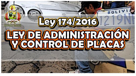 ley-174-2016-ley-de-administracion-y-control-de-placas
