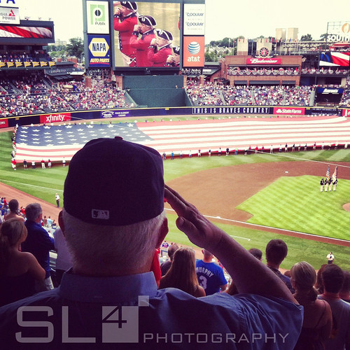 July 4th @ Turner Field. | by SL4 Photography