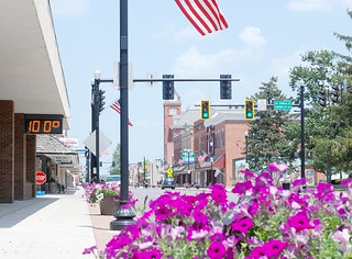 100°F — a hot, empty Bluffton for July 4th | by brandonrhodes