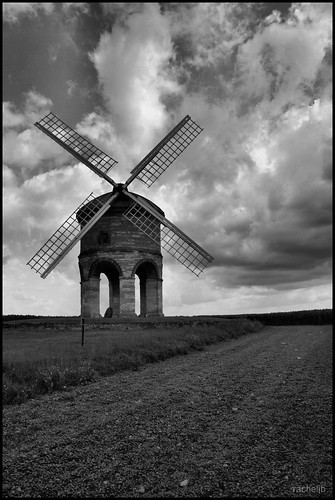 Chesterton Windmill in Black and White | by Rachel J Bowler