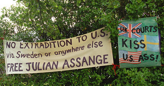 no extradition for Julian Assange | by Vertigogen