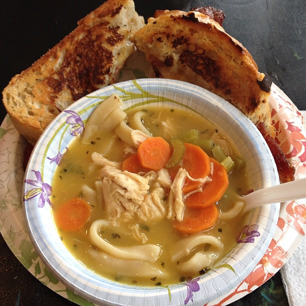 Chicken Soup Rosemary Chicken Noodle Soup With