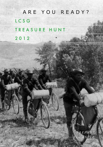 LCSG Treasure Hunt 2012 poster | by dysphasic