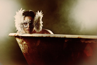 She Wore A Mask In The Rusty Tub | by TJ Scott