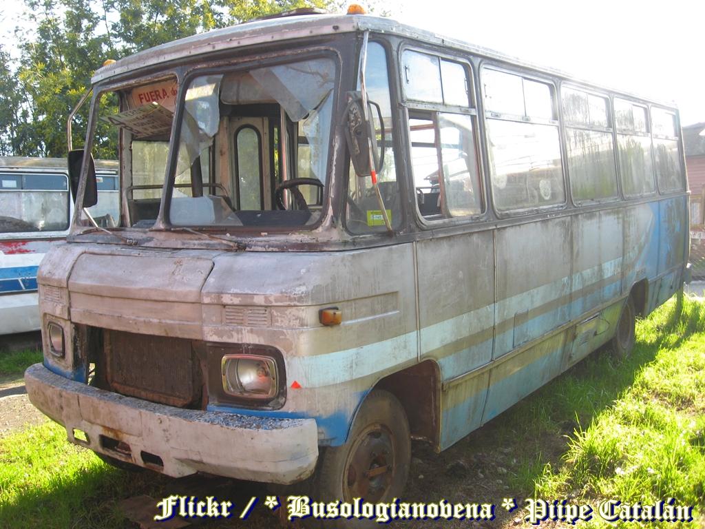 ... Caio Carolina / Mercedes Benz 608 D / Ex Santa Rosa Las Quilas |