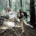 HiRes :Woodland Fairy Forest Adventure. Faries through woodland. Tink & Floz