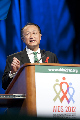World Bank President Jim Yong Kim speaks at the International AIDS Conference | by World Bank Photo Collection