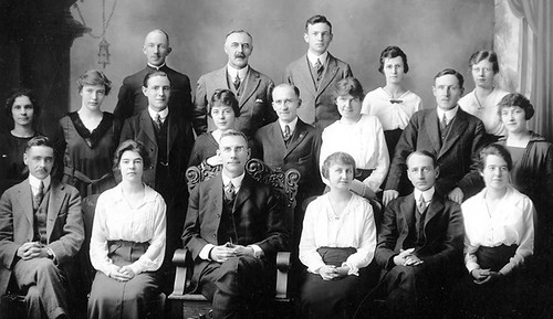 48. Unidentified Lethbridge Bank staff. Do you know anybody? | by Galt Museum & Archives on The Commons