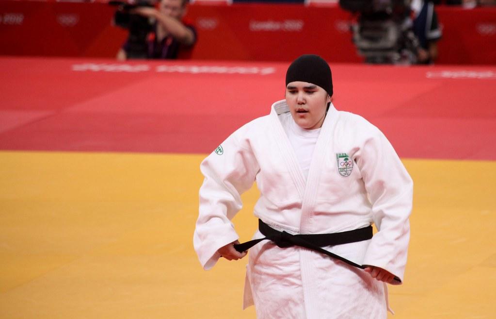 Olympic Judo London 2012 - Wojdan Shaherkani | Wojdan Shaher… | Flickr