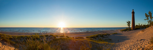 Little Sable Point Lighthouse: Panorama | by Rob Kistner