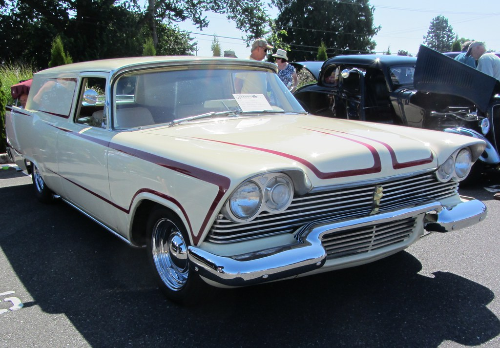 1957 Plymouth Sedan Delivery | I've seen this one drive by ...