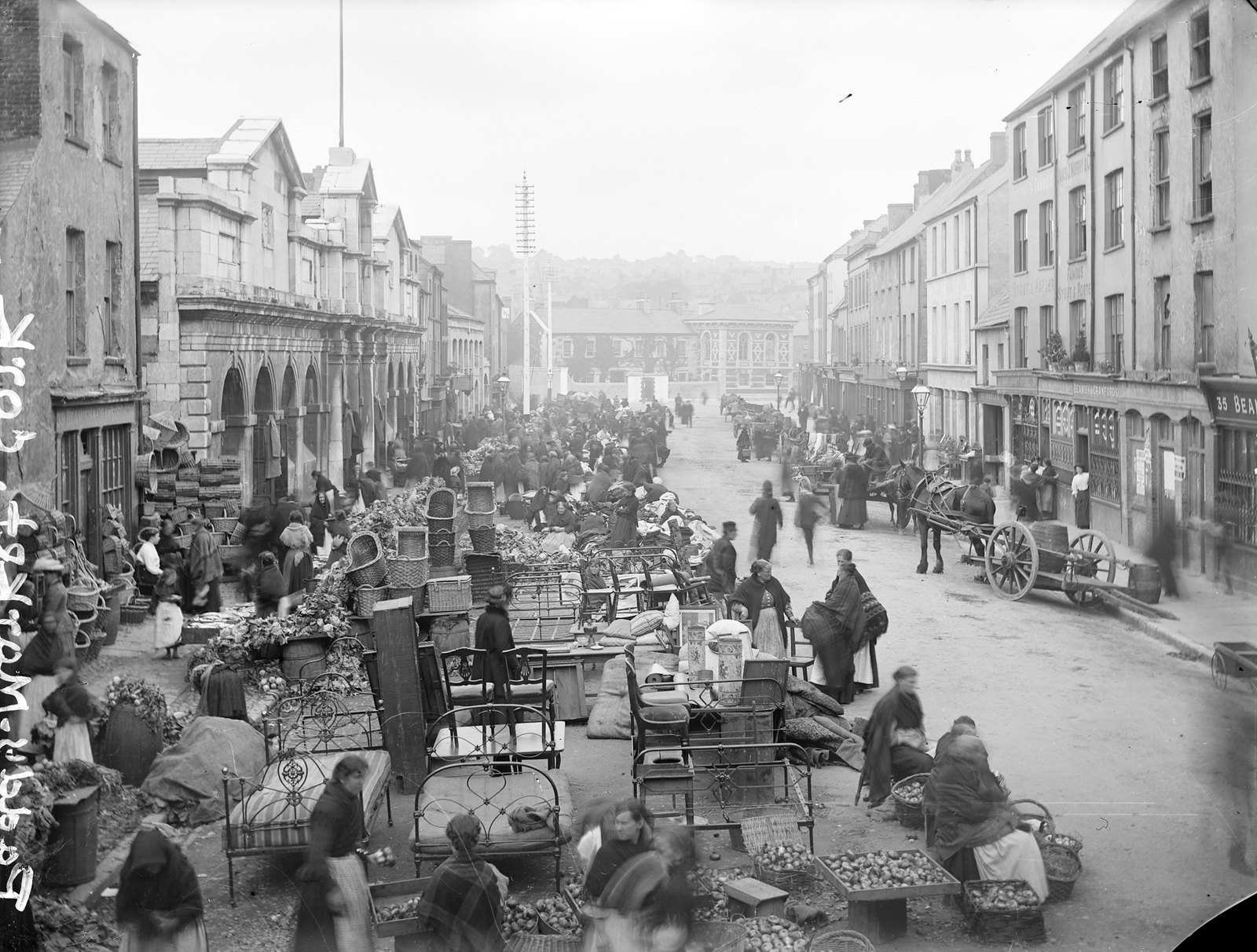 Paddy's Market, Cork City | by National Library of Ireland on The Commons