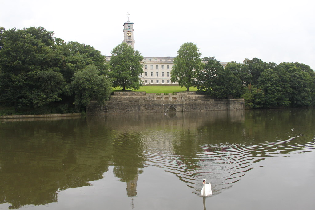 Nottingham University Trent Building Address Trent Building University of Nottingham From Across The Lake Flickr