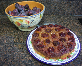 Fresh Fruit Upside Down Cake | by Quiltsalad
