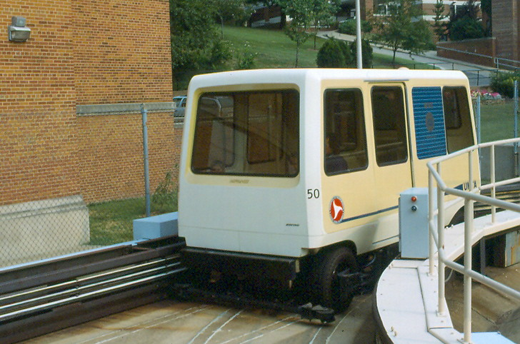 Personal Rapid Transit Morgantown W Va 3 August 1988