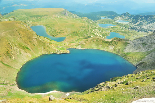 Eye lake , 6 of the 7 RiIa lakes | by .:: Maya ::.