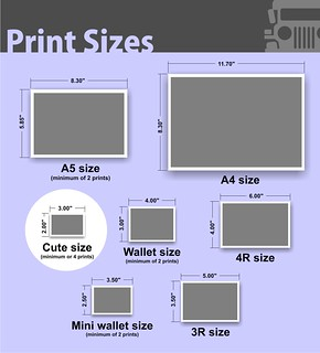 photo paper sizes Cute Size | by Photojeepney