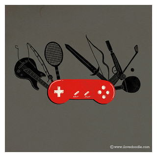 Swiss gamepad | by ILoveDoodle