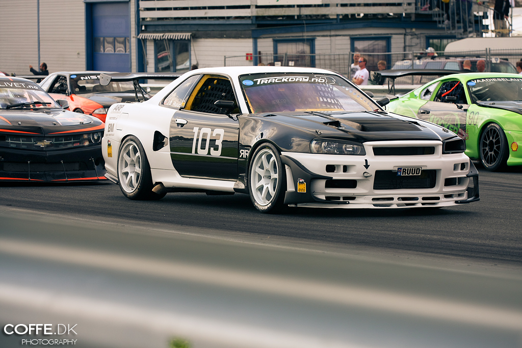 Nascar V8 Powered Nissan Skyline R34 Gt R Nascar V8