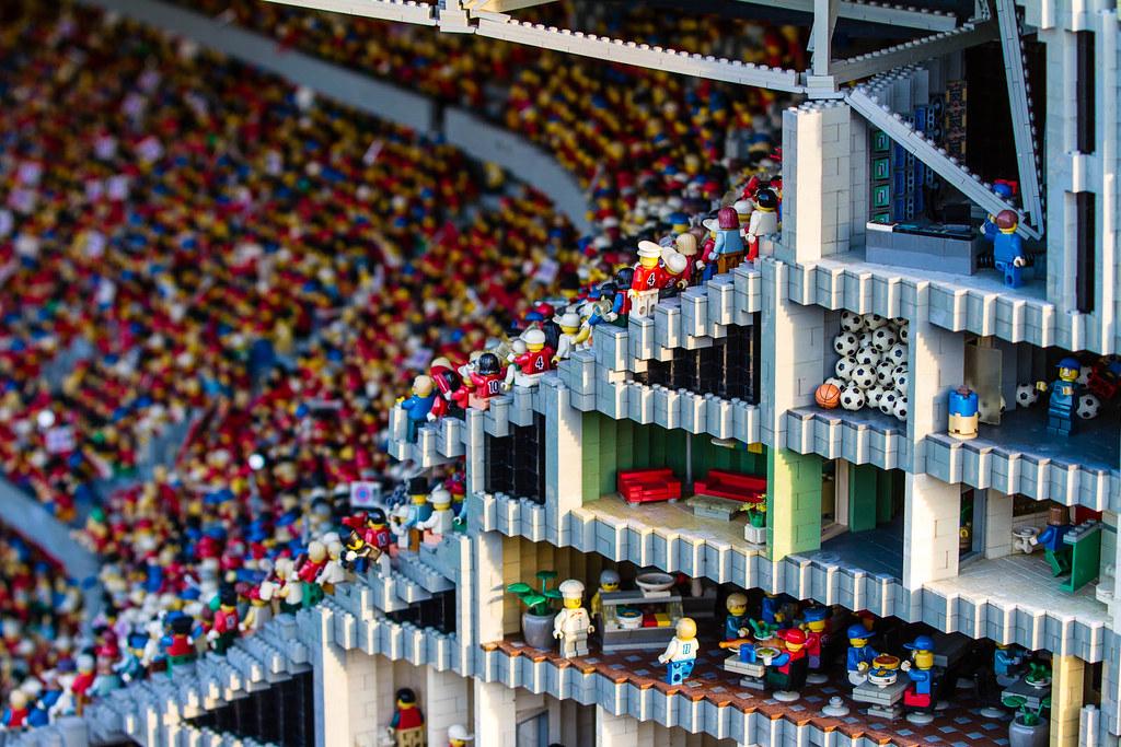 Wrong Ball at Allianz Arena | Legoland - Allianz arena cut w… | Flickr