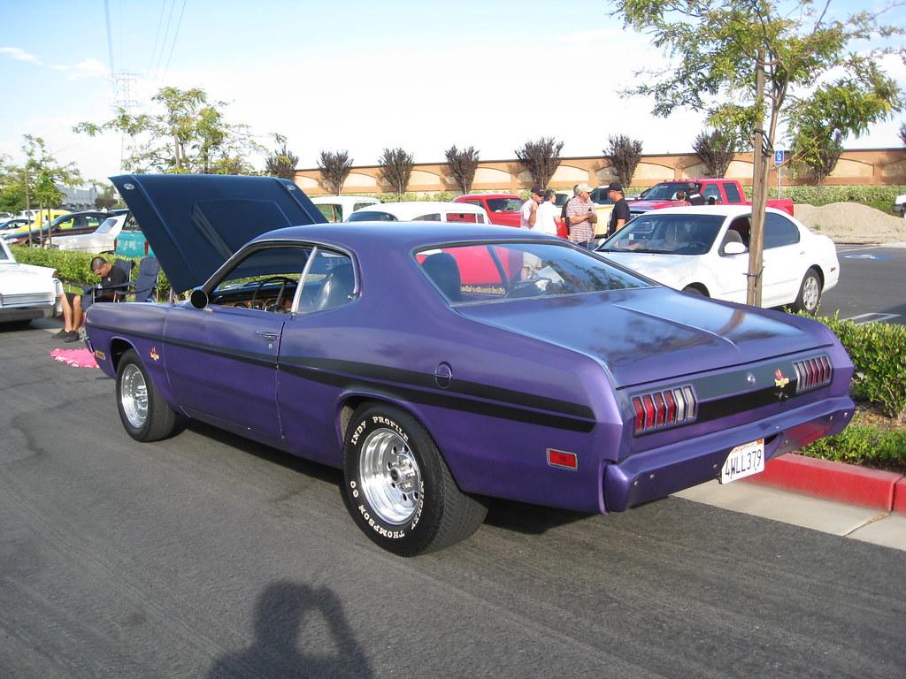 Ophelia S Adornments Blog May 2012: 1971 Dodge Demon - Plum Crazy Purple