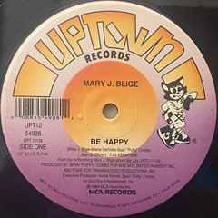 MARY J BLIGE:BE HAPPY(LABEL SIDE-A)