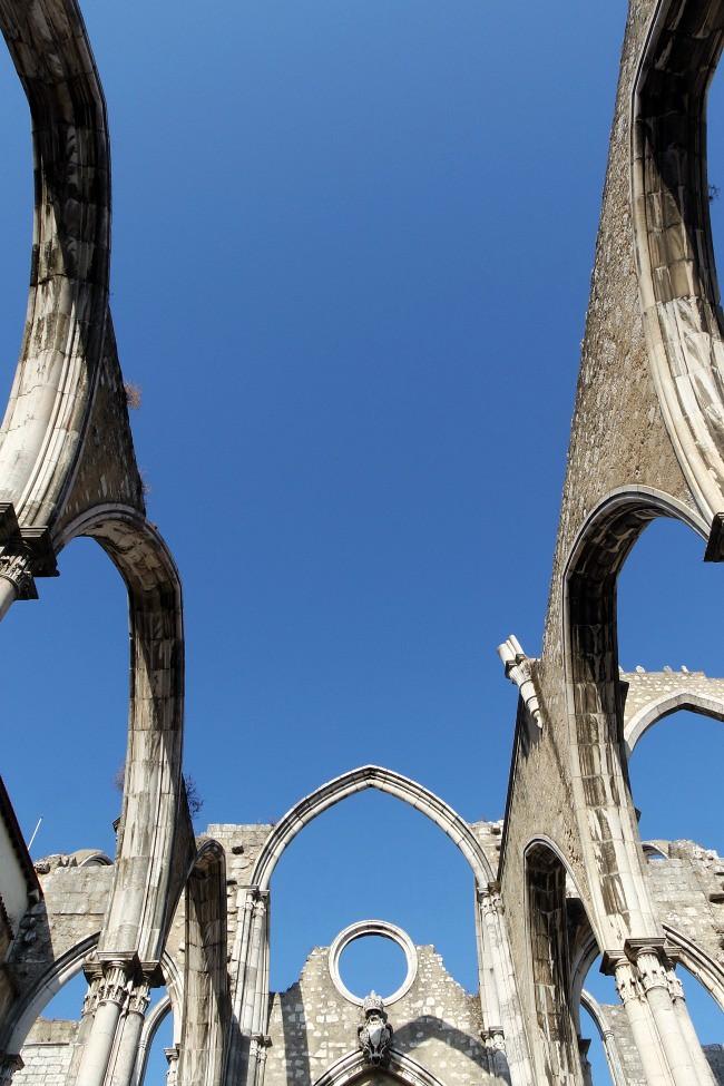 Lisbona - Convento do Carmo dettaglio