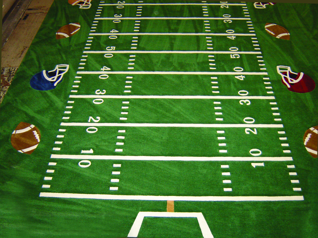Football Field Carpet By Atc A Custom Football Field