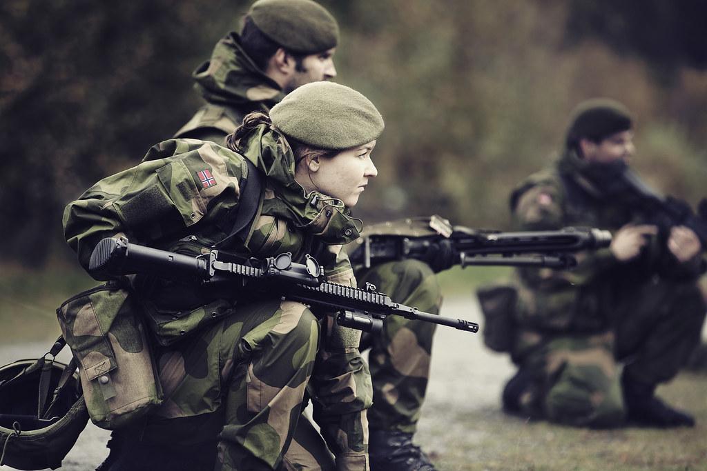 Norwegian Home Guard Norwegian Home Guard At An Exercise I Flickr