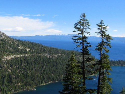 above Emerald Bay & Lake Tahoe | by joshhikes