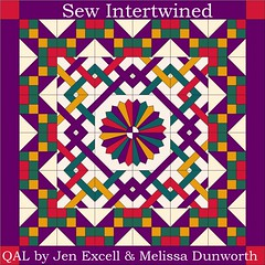 Sew Intertwined Quilt by Sew BitterSweet Designs