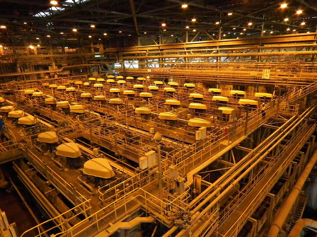 Minera Escondida, Chile | Planta concentradora Los ...