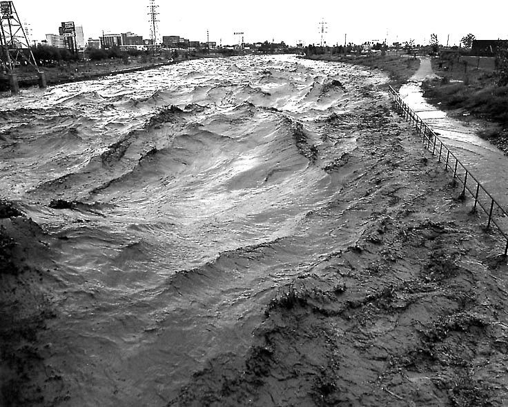Tucson Historical Photo The Flood Of 1983 This Is The
