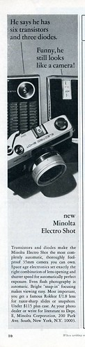 Minolta Electro Shot 1966 | by Nesster