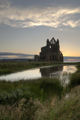 Whitby Abbey at sunset | by paul downing