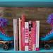 Glittered Roller Skate Bookends