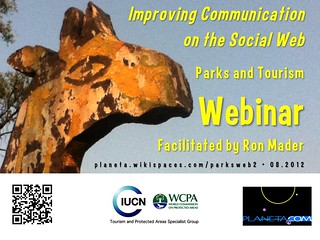 Parks and Tourism Webinar: Improving Communication on the Social Web #rtyear2012