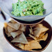 Guacamole and fresh tortilla chips