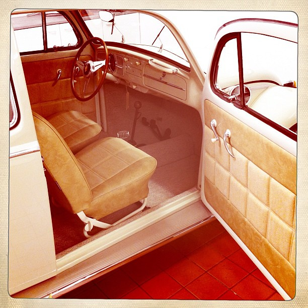 vw beetle fat biscuit retrim bernard newbury auto interiors flickr. Black Bedroom Furniture Sets. Home Design Ideas