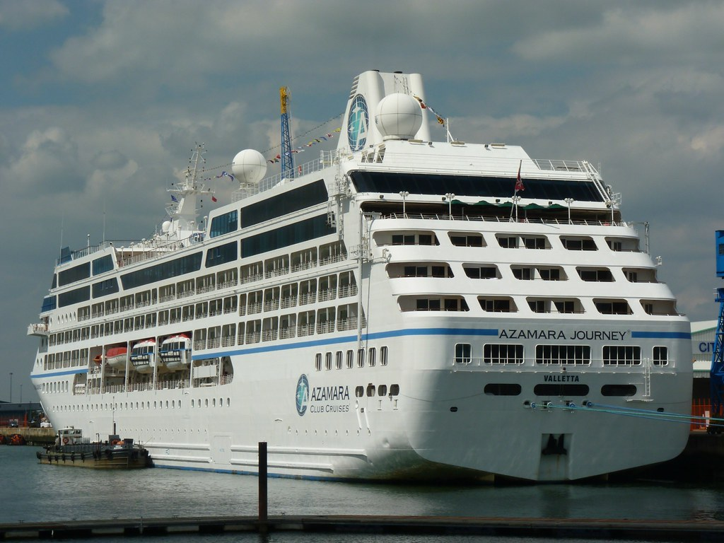 Azamara Journey At Southampton  9 August 2012  When I