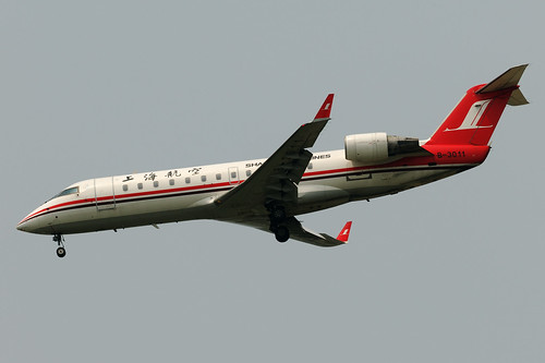 Shanghai Airlines Bombardier CRJ-200ER B-3011  MSN 7556 | by Jimmy LWH