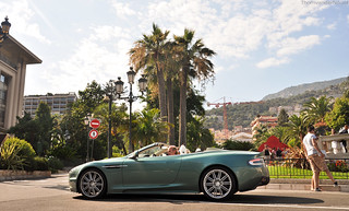 British racing green DBS Volante | by ThomvdN