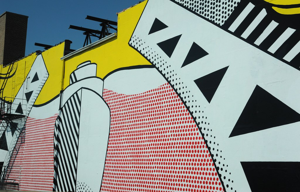 Ship Coming Through Urban Art Roy Lichtenstein Industri Flickr