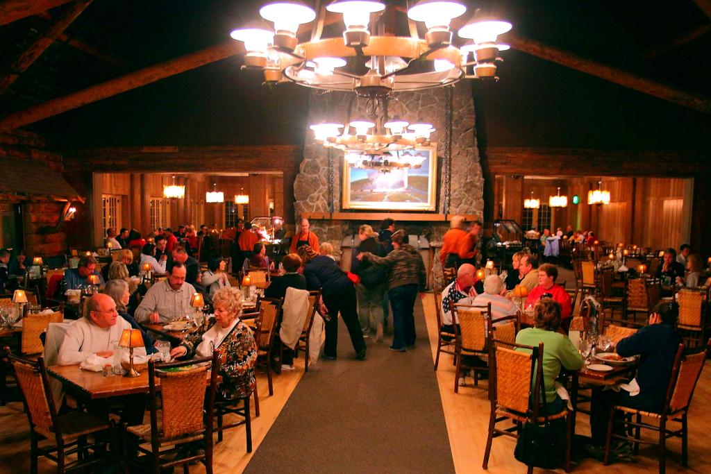img_6083 old faithful inn dining room | i-ting chiang | flickr