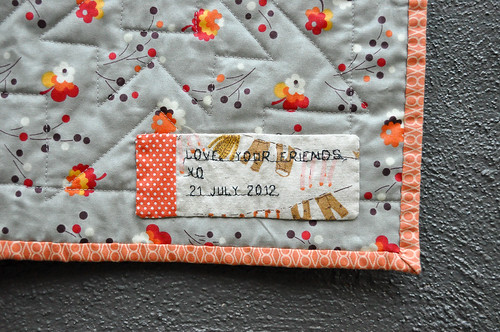Embroidered Label | by the workroom