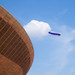 Blimp over the Olympic Velodrome 500 x 500