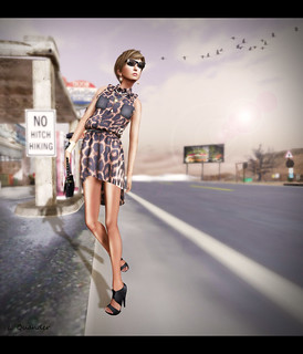 Fleshtone ::Marina Dress [Leopard] by Stevenzuuh Gossipgirl for Limited Bazaar | by Lila Quander
