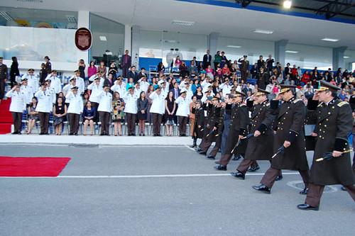 Polic a sesenta y ocho oficiales ascendieron al grado de for Ministerio interior y policia