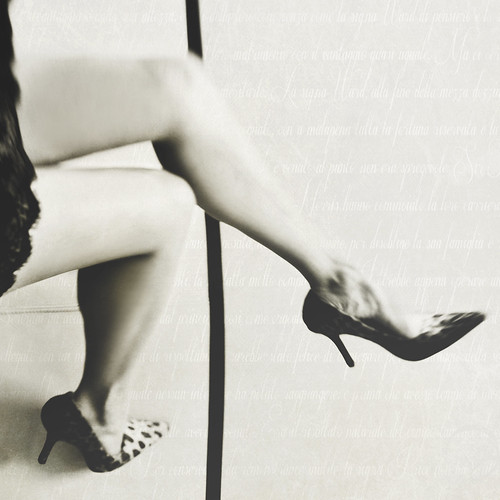 """I don't know who invented high heels, but all women owe him alot.""- Marilyn Monroe - 