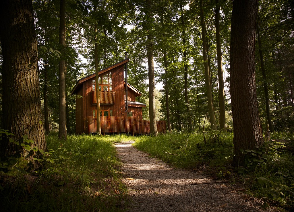 ... Golden Oak One Bedroom Cabin, Sherwood Forest | By Forest Holidays